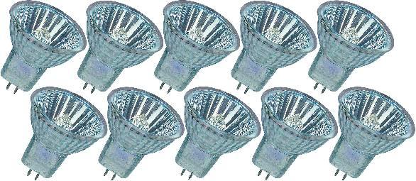 Halogénová žiarovka Osram, 12 V, 20 W, G4, 4000 h, 36°, 10 ks