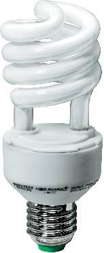 Úsporná žárovka spirálovitá Megaman Helix E27, 20 W, studená bílá