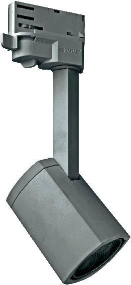Lištové VN stropní svítidlo Megatron GU10, stříbrná (MT78650)