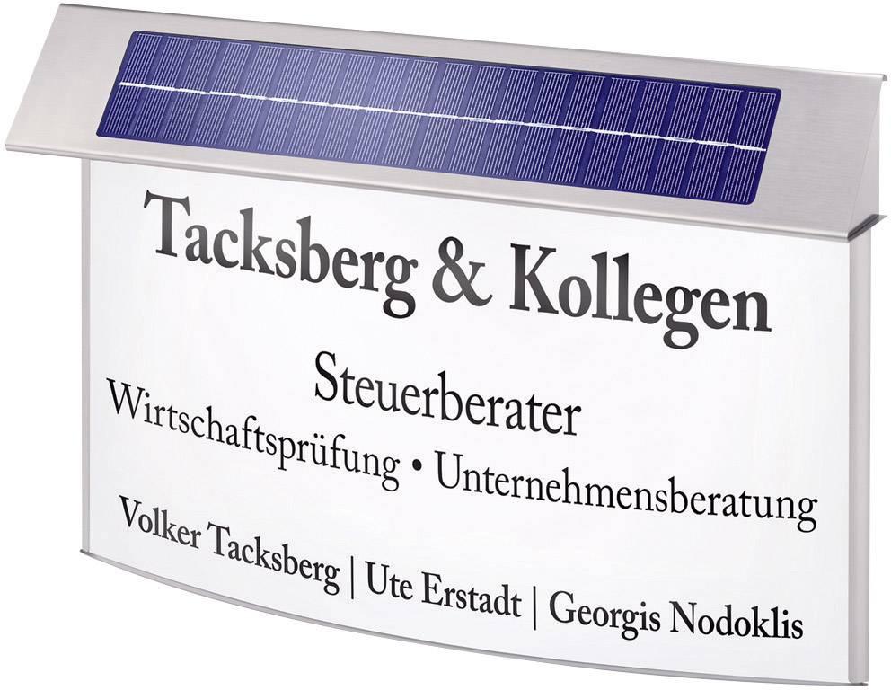 Solárna svetelná info tabuľa L