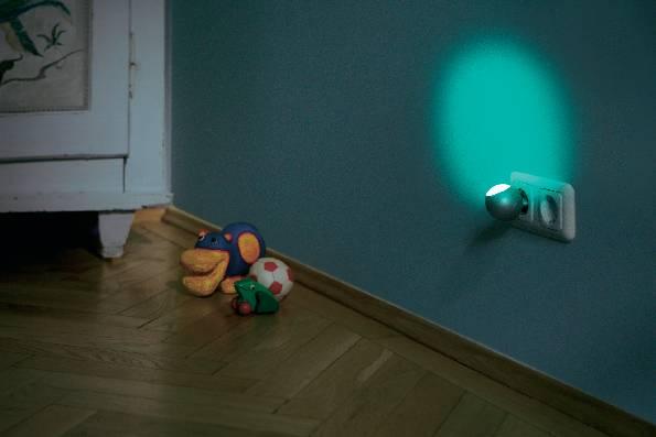 Nočné LED svetlo Osram Lunetta, strieborné