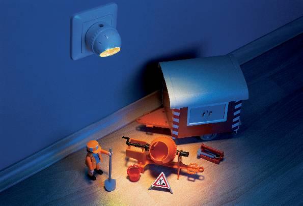 Noční LED svítidlo Osram Lunetta, 0,4 W, žlutá/bílá