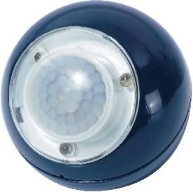 Přenosné LED světlo s PIR, černá