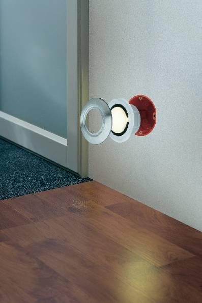 Kryt k vstavanému LED svietidlu Paulmann Special Line 93742, okrúhly, nerez