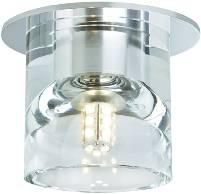 Vestavné svítidlo - LED Paulmann Glassy 92021 G4, 3 W, sada 3 ks, transparentní