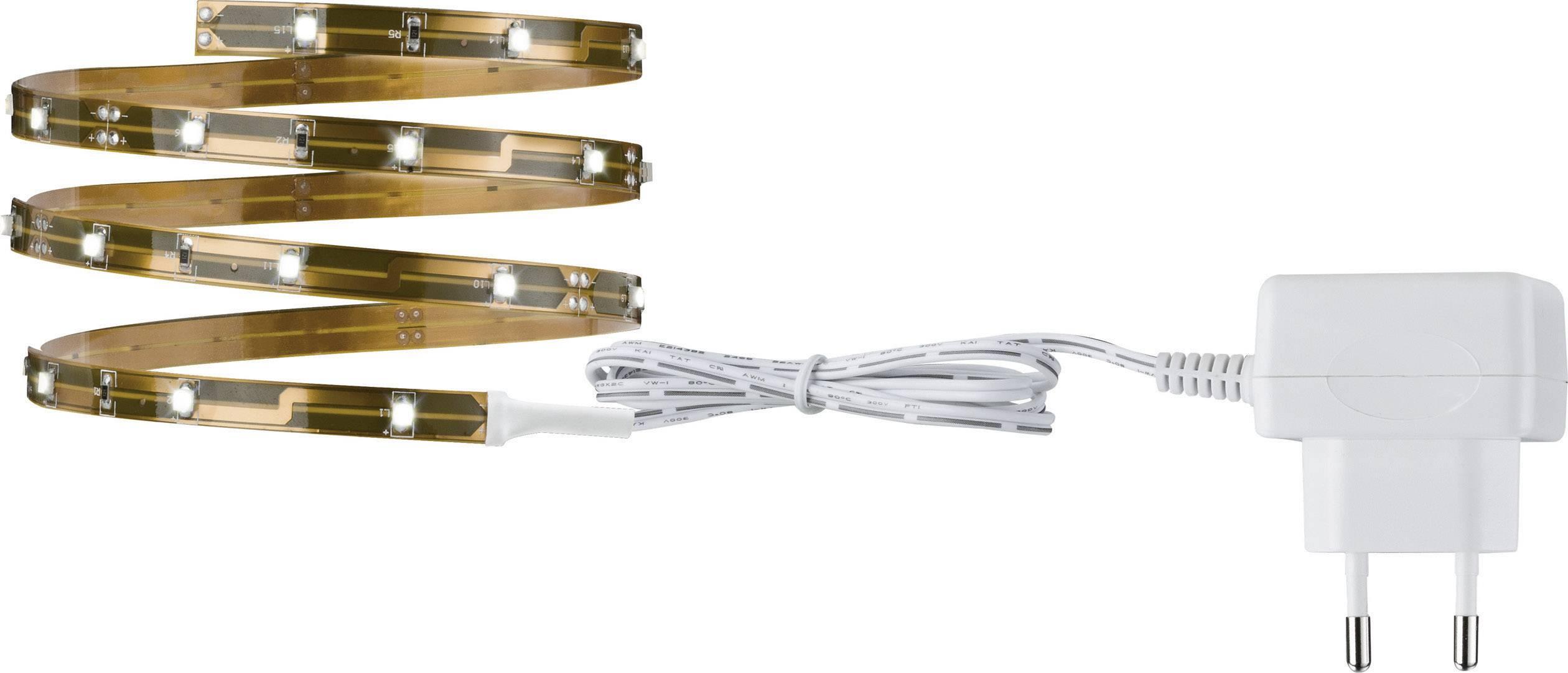 Kompletná sada LED pásikov 3556, 12 V, 2.4 W, teplá biela, 100 cm