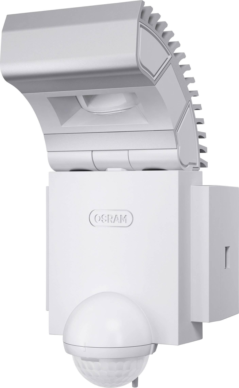 Vonkajšie LED osvetlenie s detektorom pohybu Osram Noxlite LED Spot, 8 W, biele