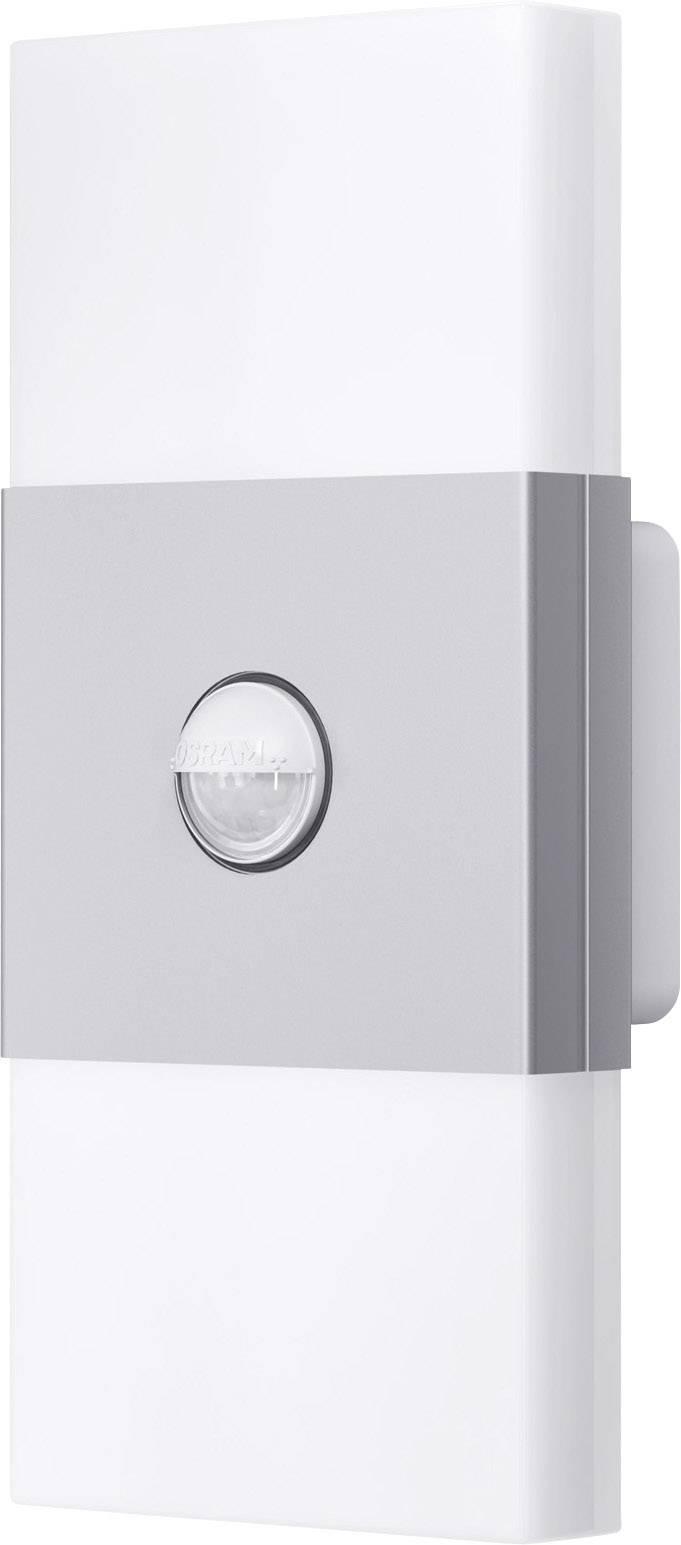 Dvojité LED osvetlenie s detektorom pohybu Osram Noxlite LED Wall, 12 W, IP44