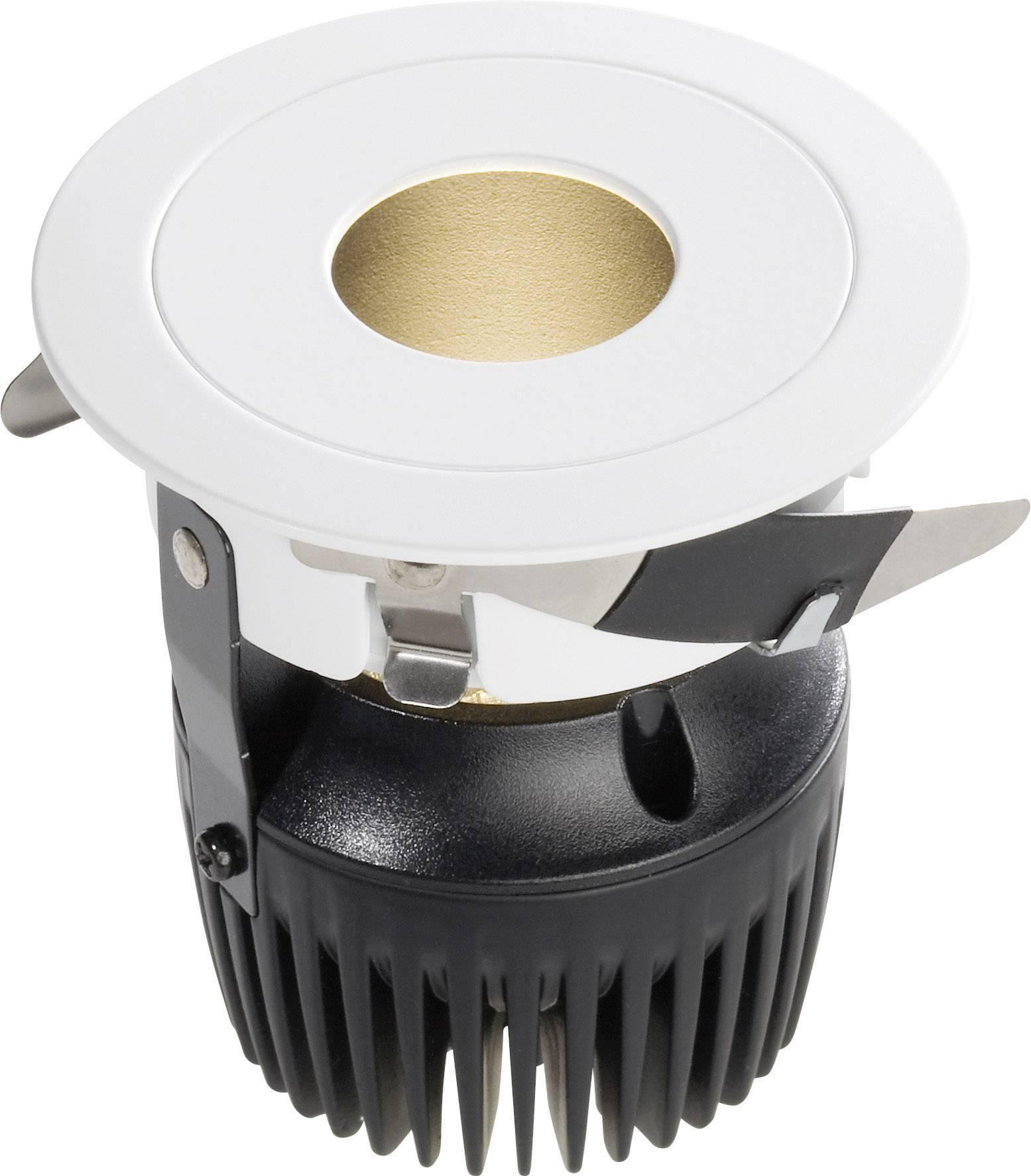 LED vstavané svetlo DD-12030.04, 8 W, teplá biela, biela