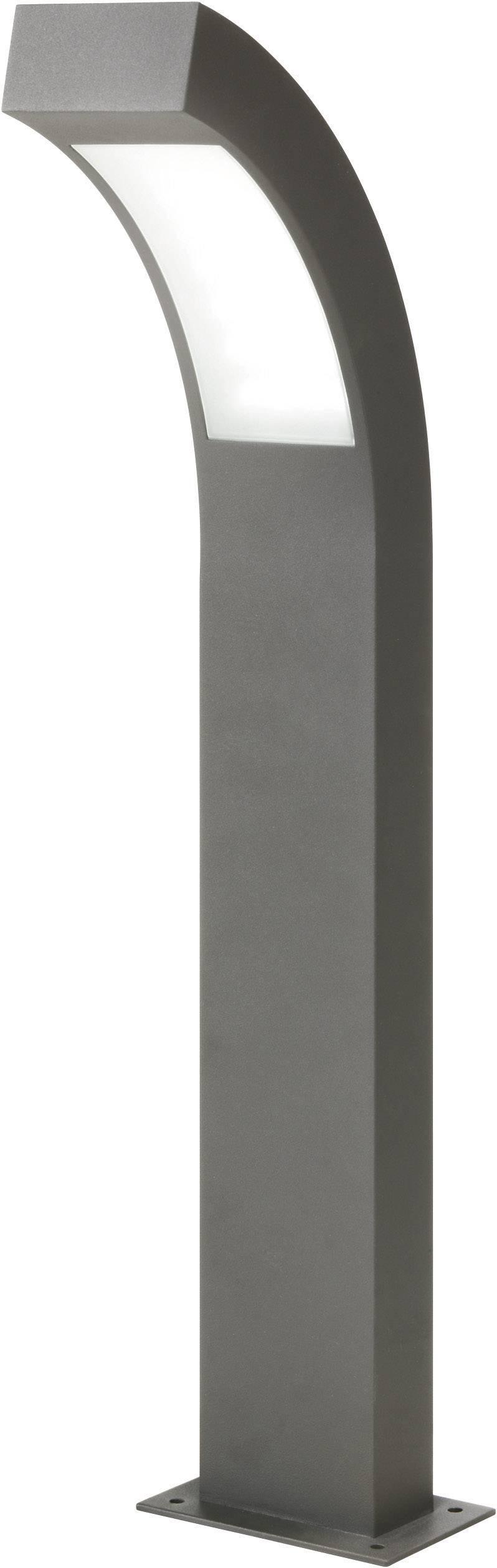 LEDvonkajšiastojaca lampa Esotec Line 105190, 4.5 W, denné svetlo, 60 cm, antracitová