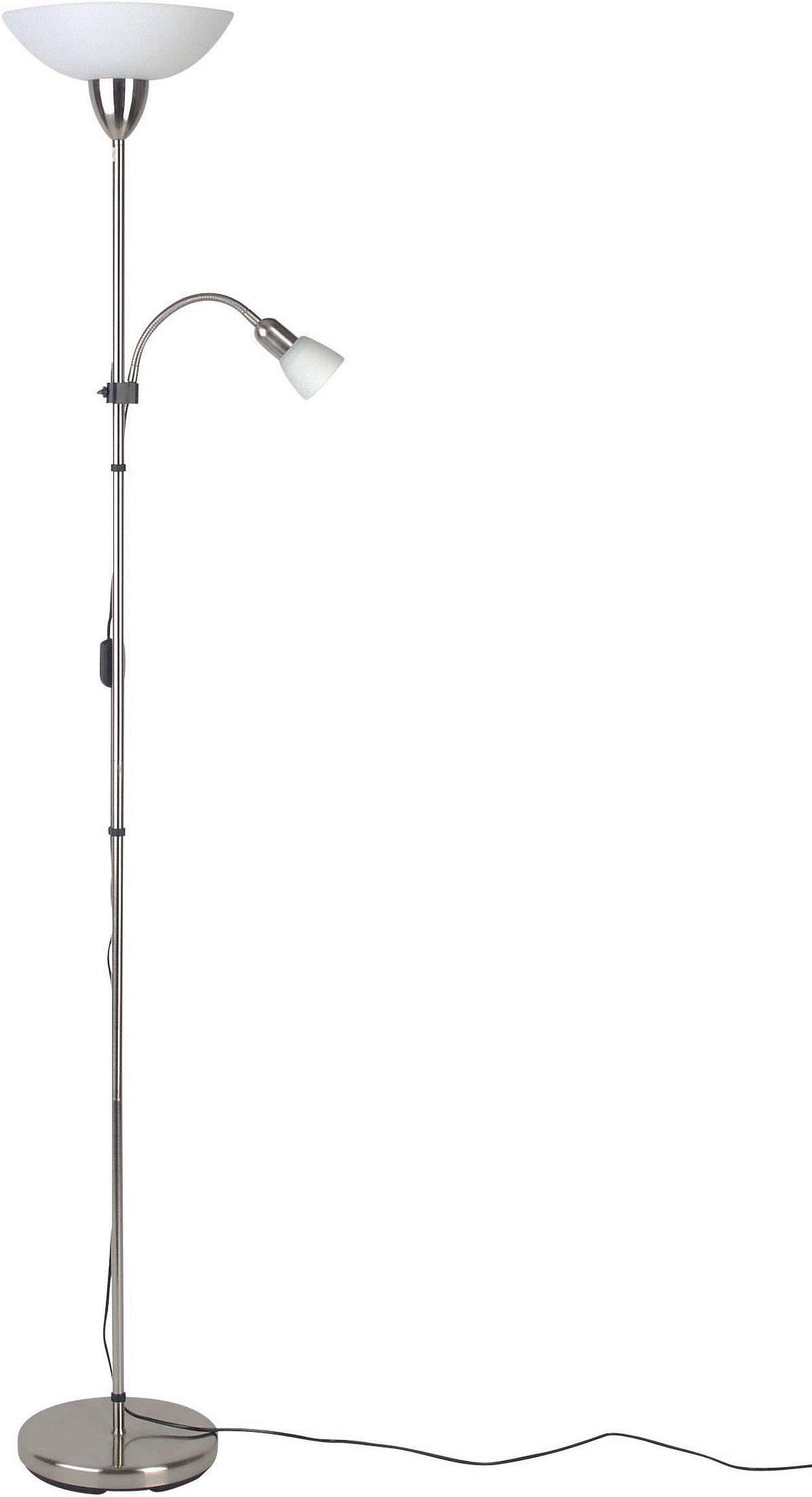 Lampa Brilliant Darlington, halogenová žárovka E27 60 W, železo