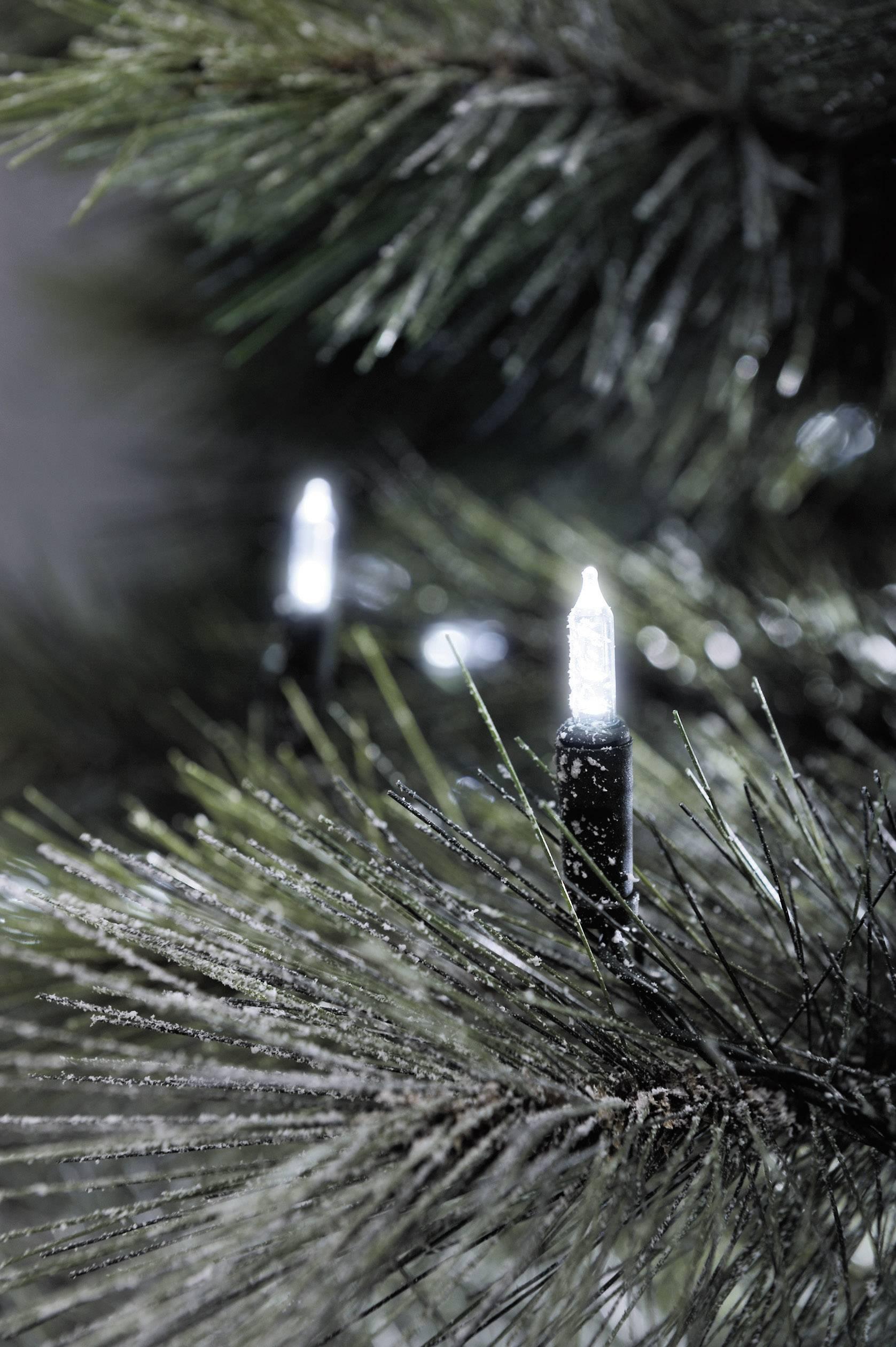 Vánoční mini retěz Konstsmide, 40 LED bílá