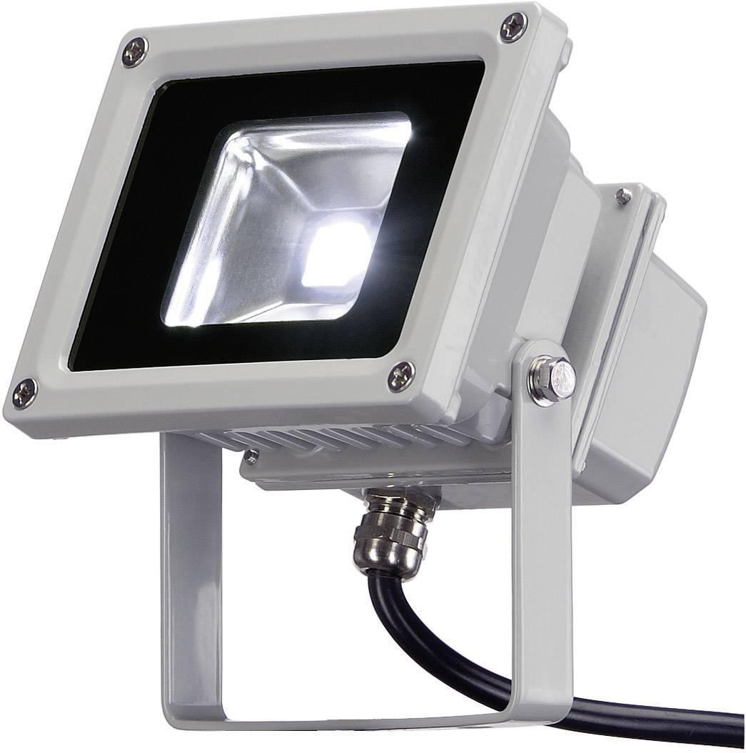 Záhradný reflektor LED Outdoor Beam strieborný, biela, 10 W