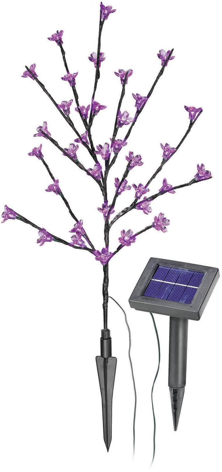 Solárne záhradné svietidlo LED Esotec, kvitnúci ker