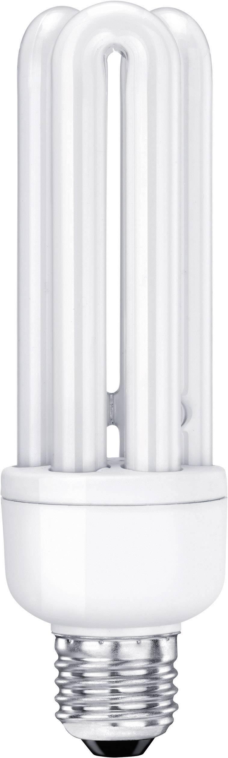 Úsporná žiarovka rúrka Sygonix E27, 20 W, teplá biela
