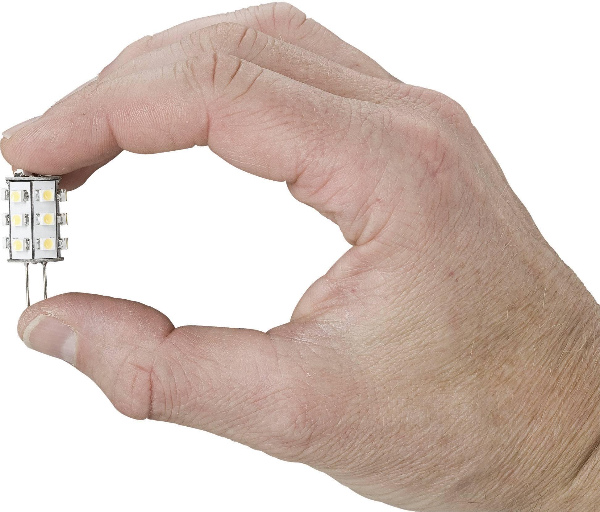 LED žiarovka Paulmann G4, 1 W, teplá biela