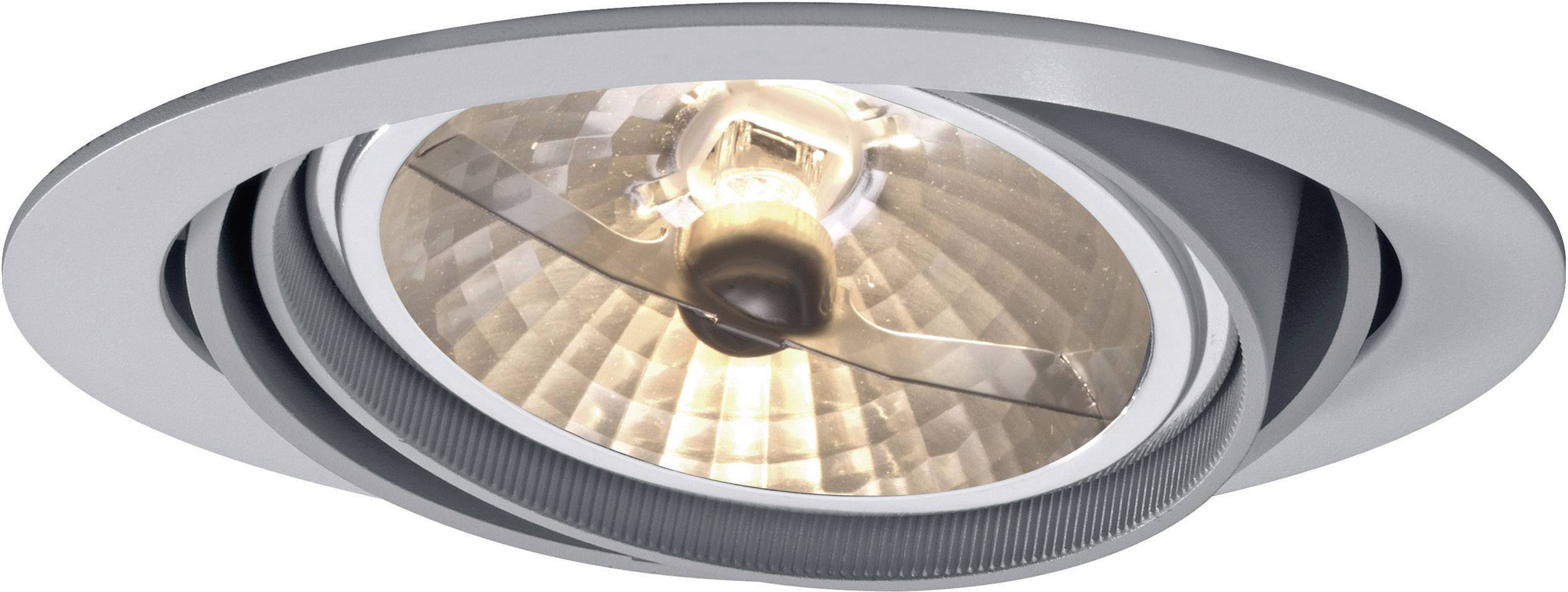 - halogénová žiarovka Bari 578709 G53, 100 W, sivá
