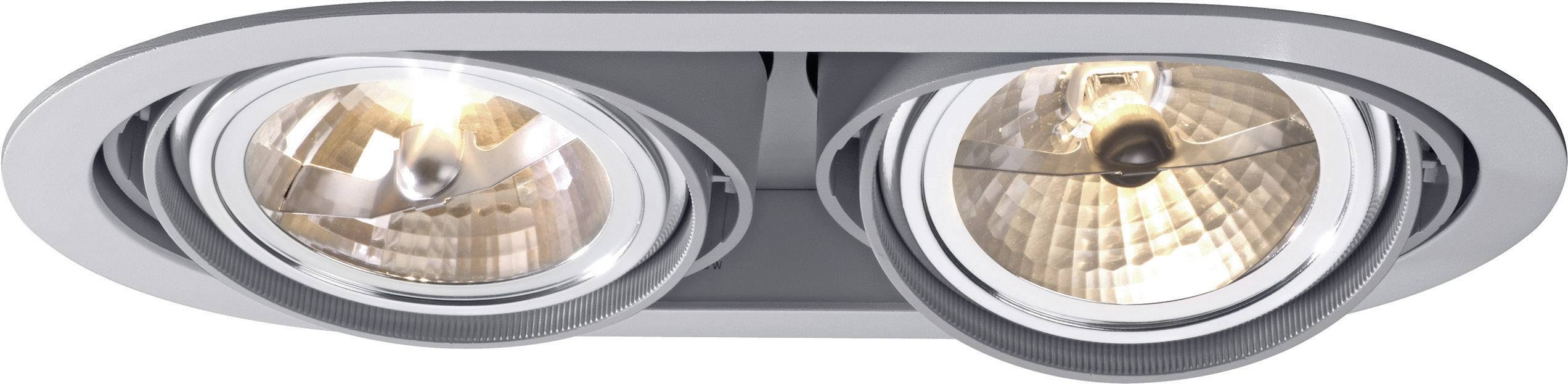 Svietidlo DOWNLIGHT BARI, 2 x 100 W, sivá