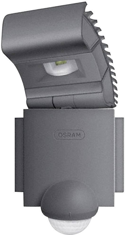 Vonkajšie LED osvetlenie s detektorom pohybu Osram Noxlite LED Spot, 8 W, čierne