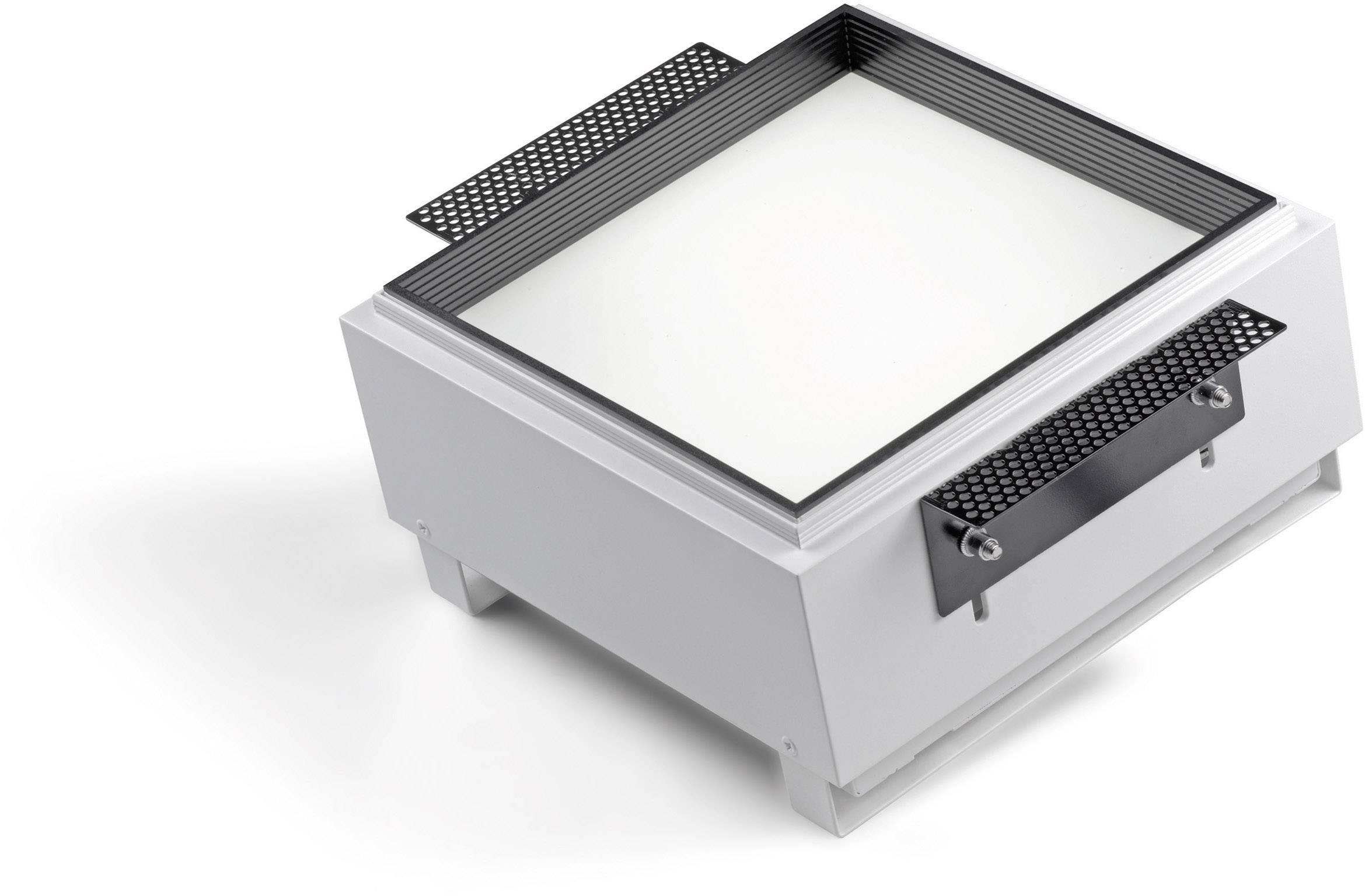 Integrované osvetlenie žiarivkové Sygonix Arezzo 34609X, 2x 26 W, šedé
