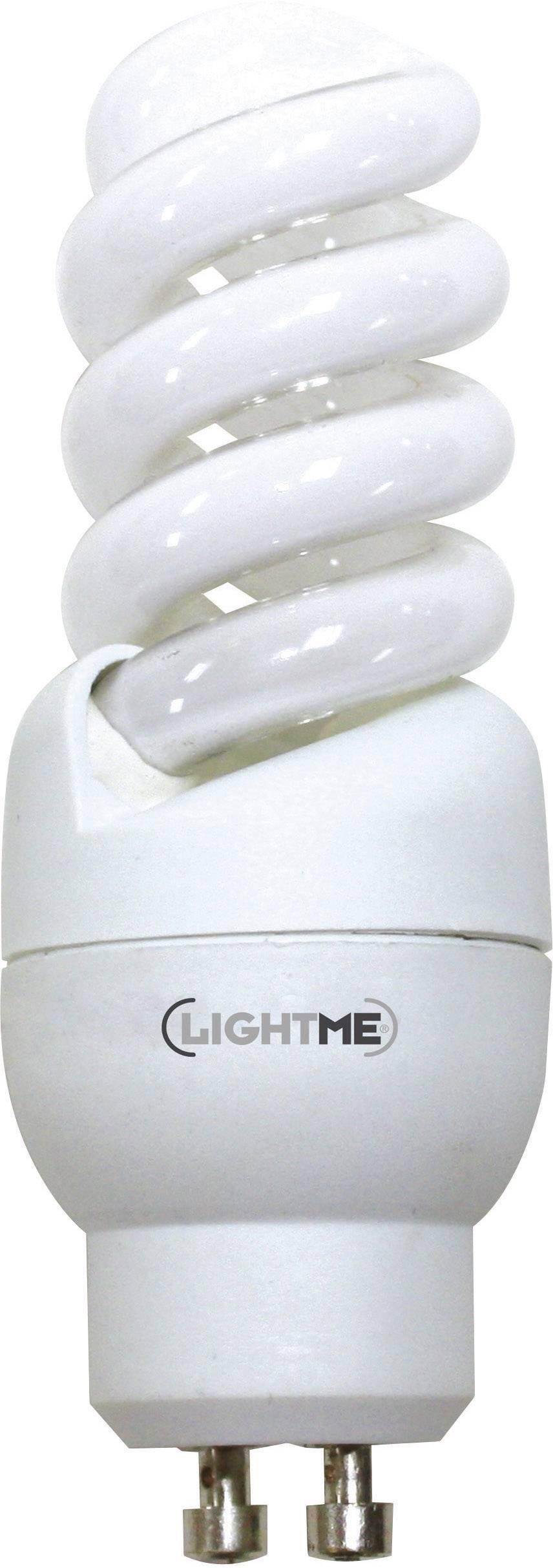 Úsporná žiarovka špirálová Light Full Spiral GU10, 9 W