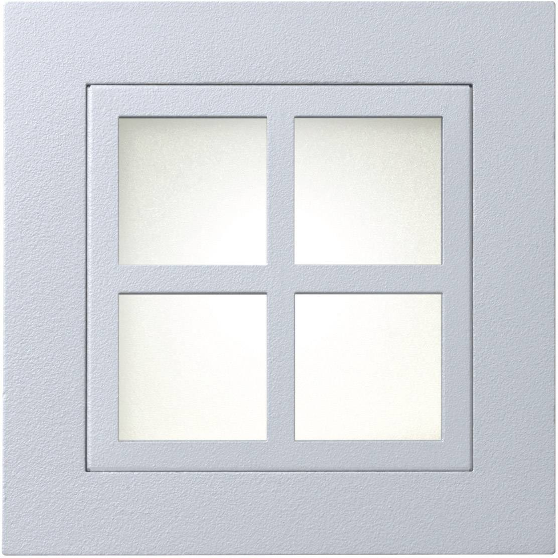 Rámik pre vstavané osvetlenie s okienkami Marsala Sygonix 34099V, šedý