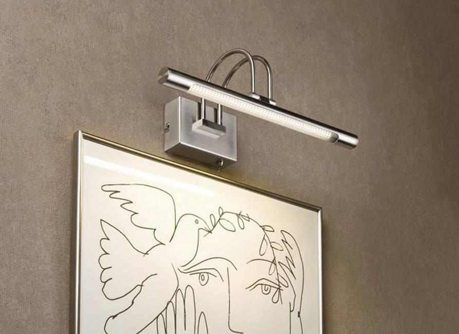Nástenné LED svietidlo pre osvetlenie obrazov Paulmann, 99075, 3.5 W