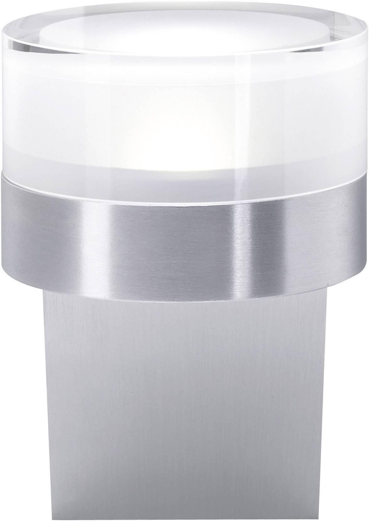 LED nástenné svetlo Bolzano 579209, 1 W, chladná biela, striebornosivá