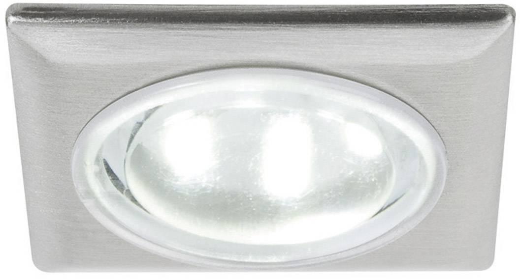 Vstavané LED svetlá, 5x 0.5 W, 230 V, hranaté