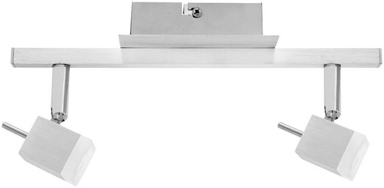 Bodové LED svietidlo Paulmann Spotlight QuadLed Stange 60119, 2x 3 W, hliník
