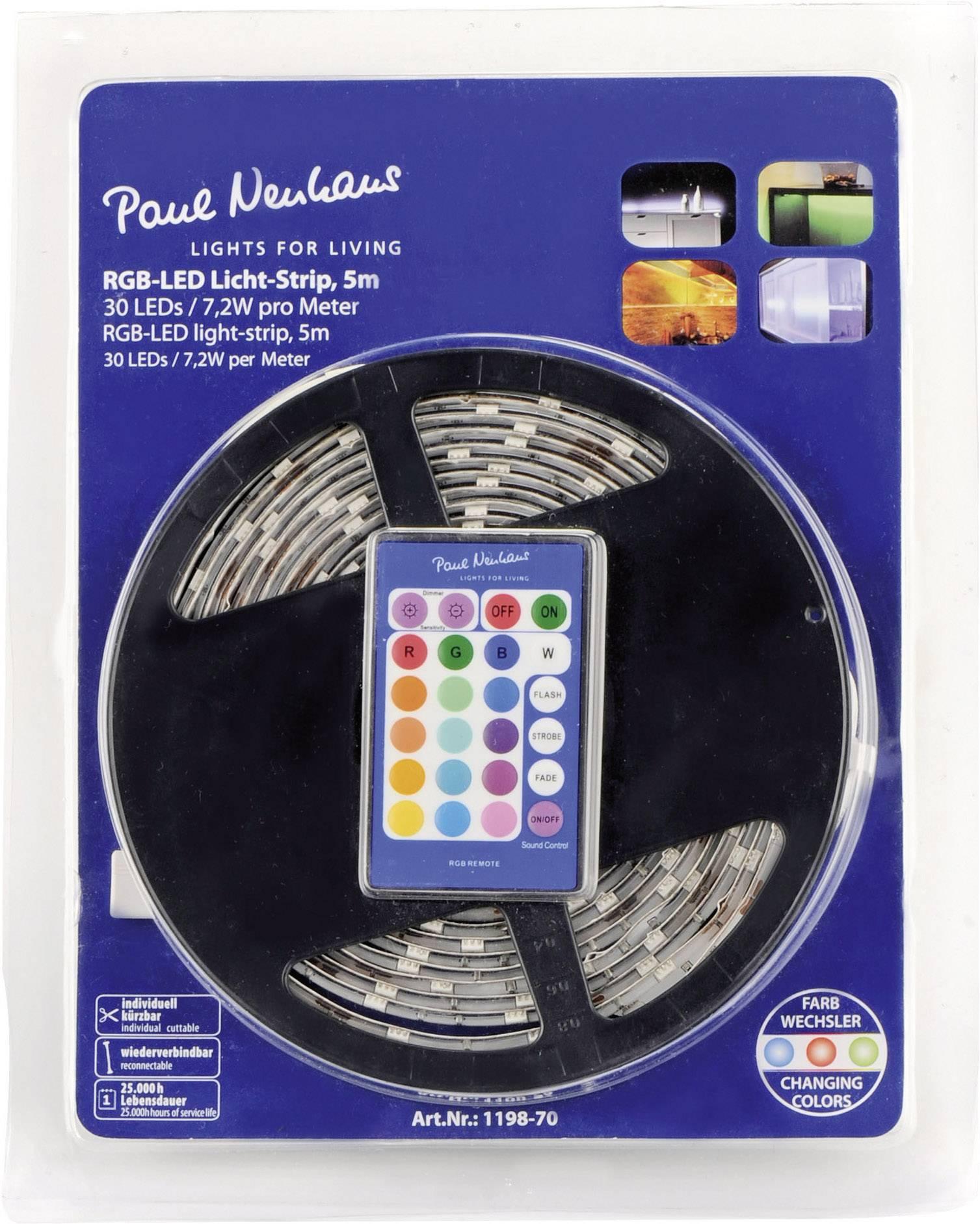 Dekoratívny LED pás Paul Neuhaus, 5 m
