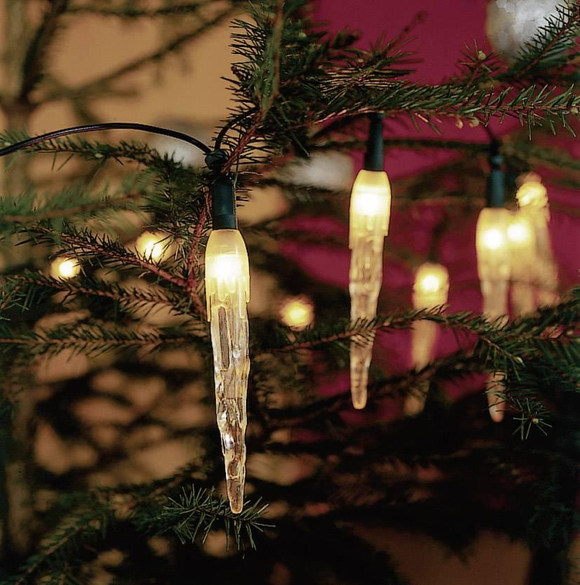 Žiarovka svetelná reťaz s motívom cencúle vnútorné 2312-000, 230 V, teplá biela, 4.35 m