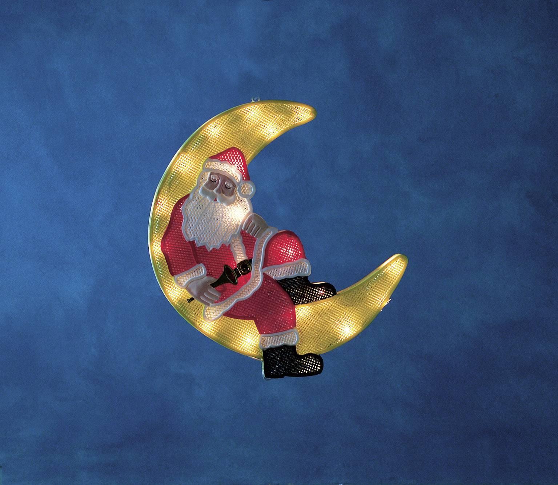 Santa Claus ozdoba do okna Konstsmide 2860-000, farebná