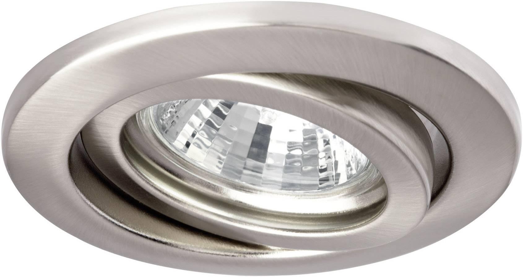 Vstavané halogénové svietidlá NP Basic, GU5.3, sada 5 ks