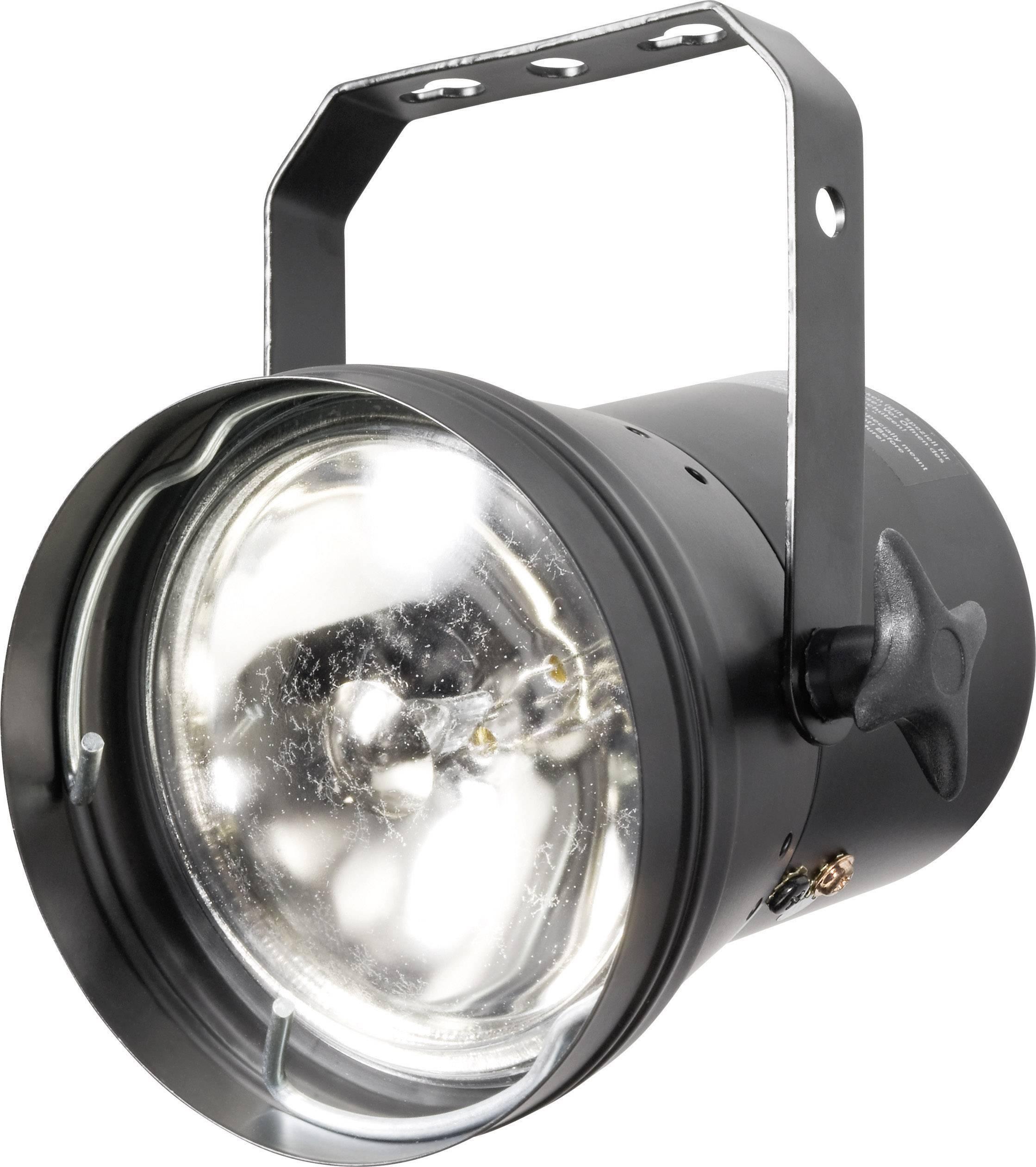 Bodový LED reflektor PAR 36, čierny