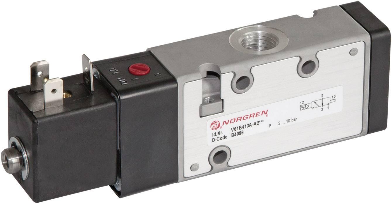 Elektropneumatický ventil Norgren V61B413A-A213L, 3/2-cestné, G 1/4, 24 V/DC
