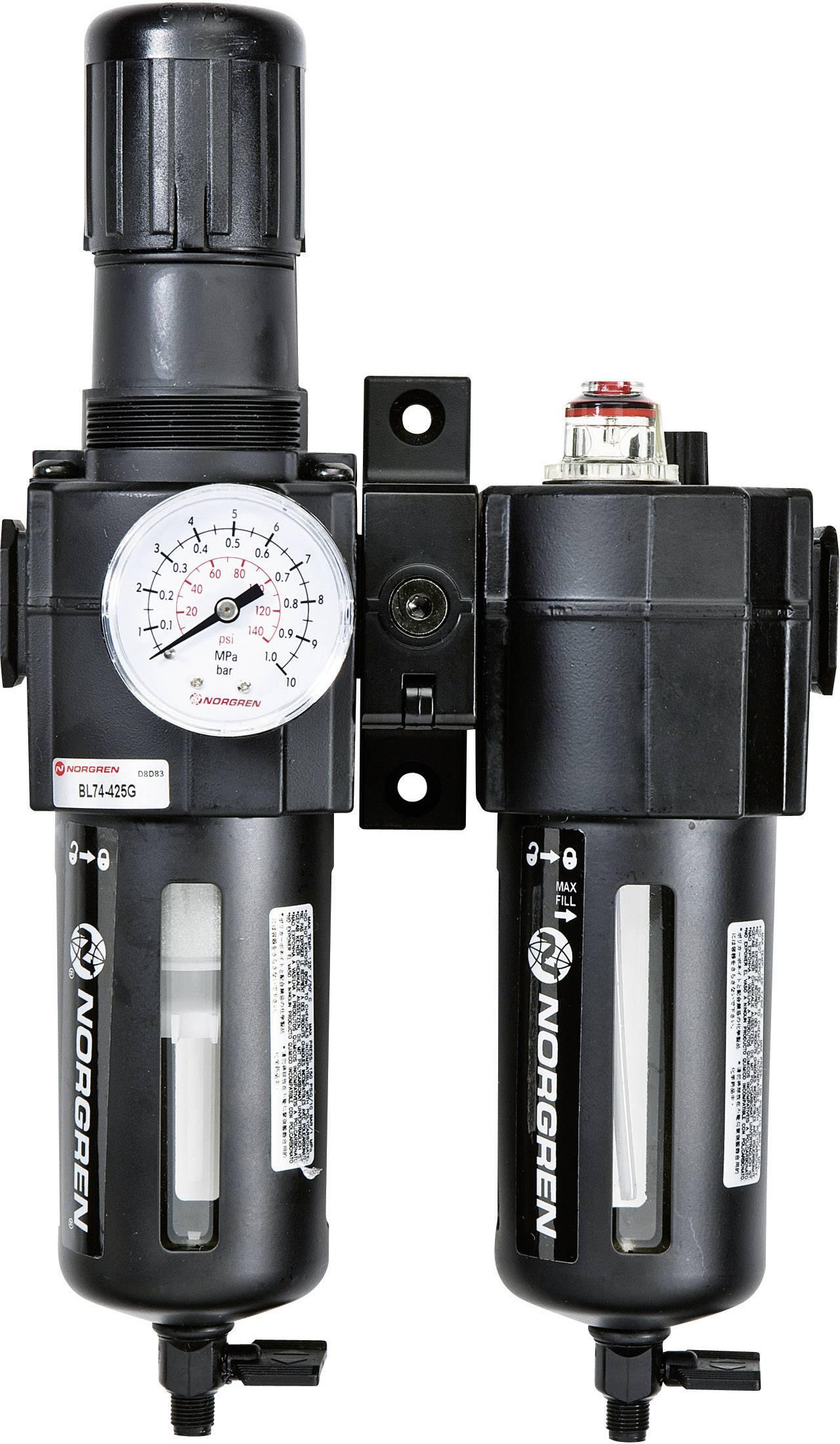 """Jednotka údržby Norgren BL74-425G 1/2"""", provozní tlak (max.) 10 bar"""