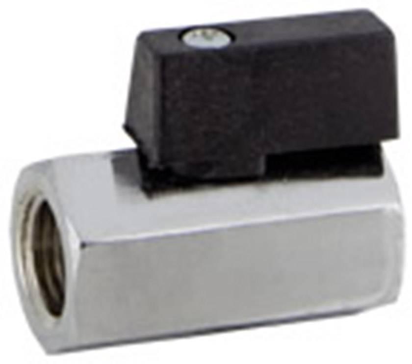 """Štandardný guľový kohút Norgren 601112118, vnútorný závit 1/8"""", 10 bar (max)"""