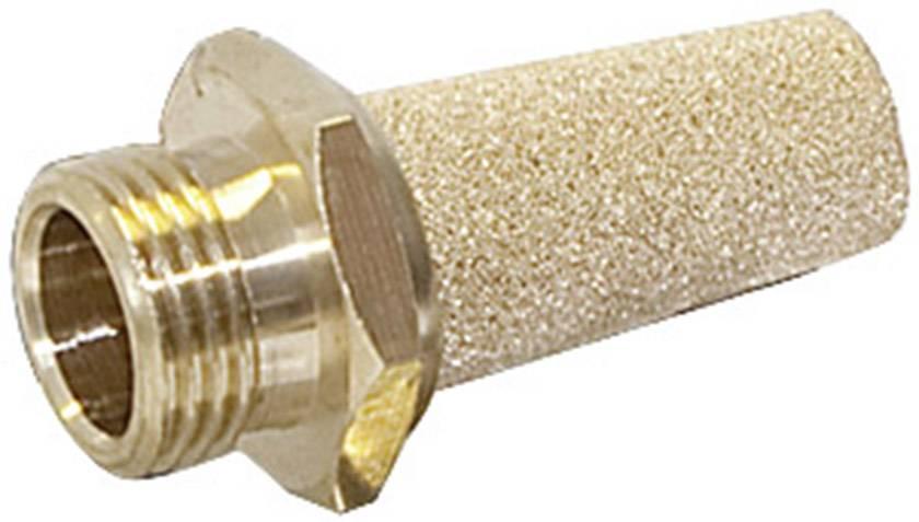 """Pneumatický tlumič hluku Norgren T40C2800, 10 bar, vnější závit 1/4"""""""
