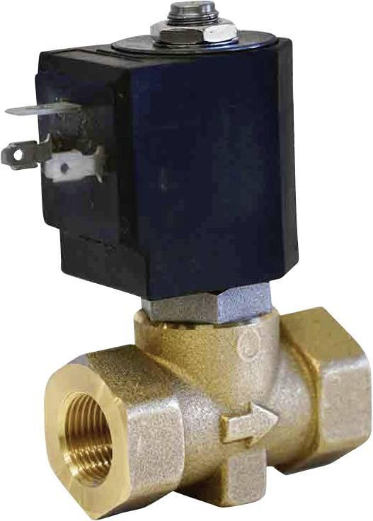 2/2-cestný elektromagnetický ventil M & M International D238DVL, G 3/8, 24 V/DC