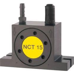 Turbínový vibrátor Netter Vibration NCT 4 02704000, menovit.frekvencia (pri 6 baroch) 33800 rpm, odstred.sila (6 barov) 1441 N, 0.023 cm/kg