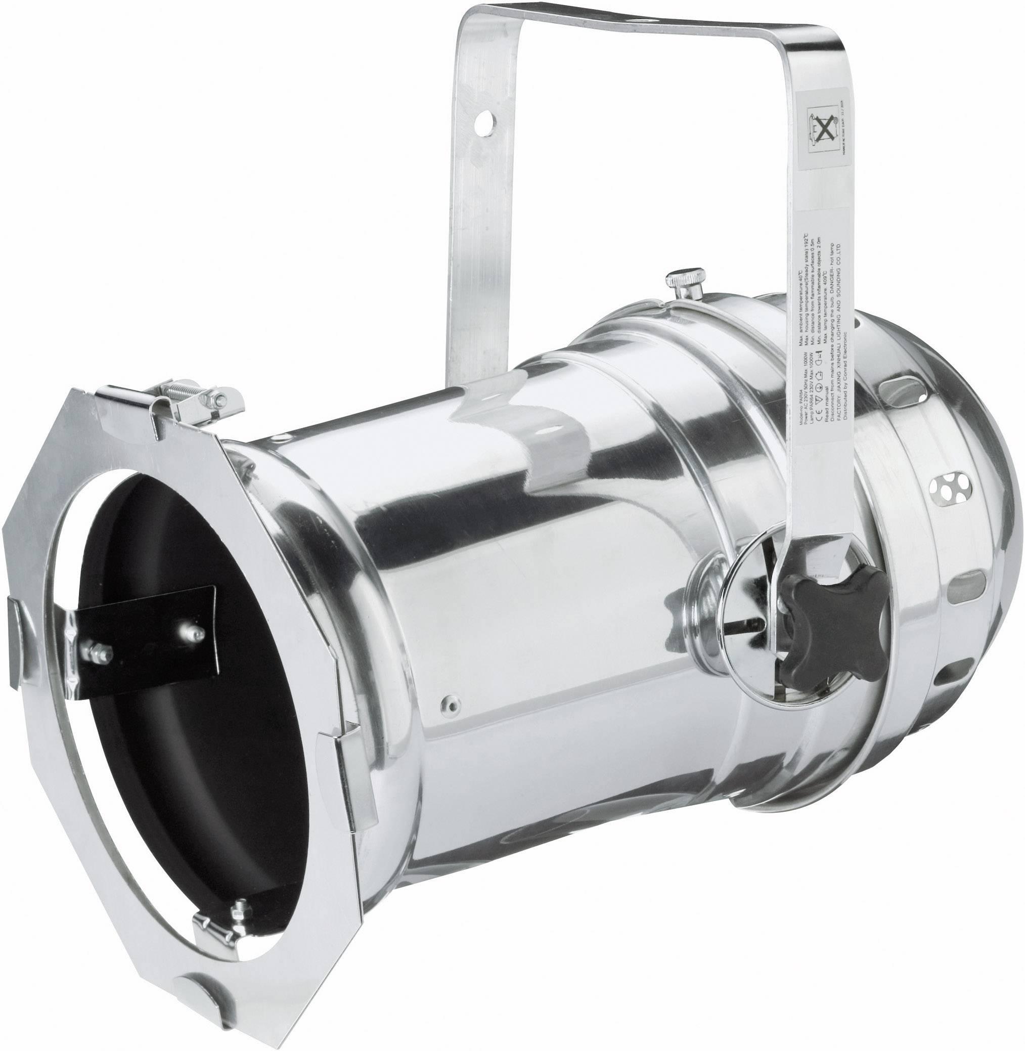 Reflektor PAR 64 Long, leštený hliník