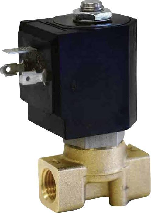2/2-cestný pneumatický ventil M & M International D263DVH, G 1/4 Materiál pouzdra mosaz Těsnicí materiál FKM