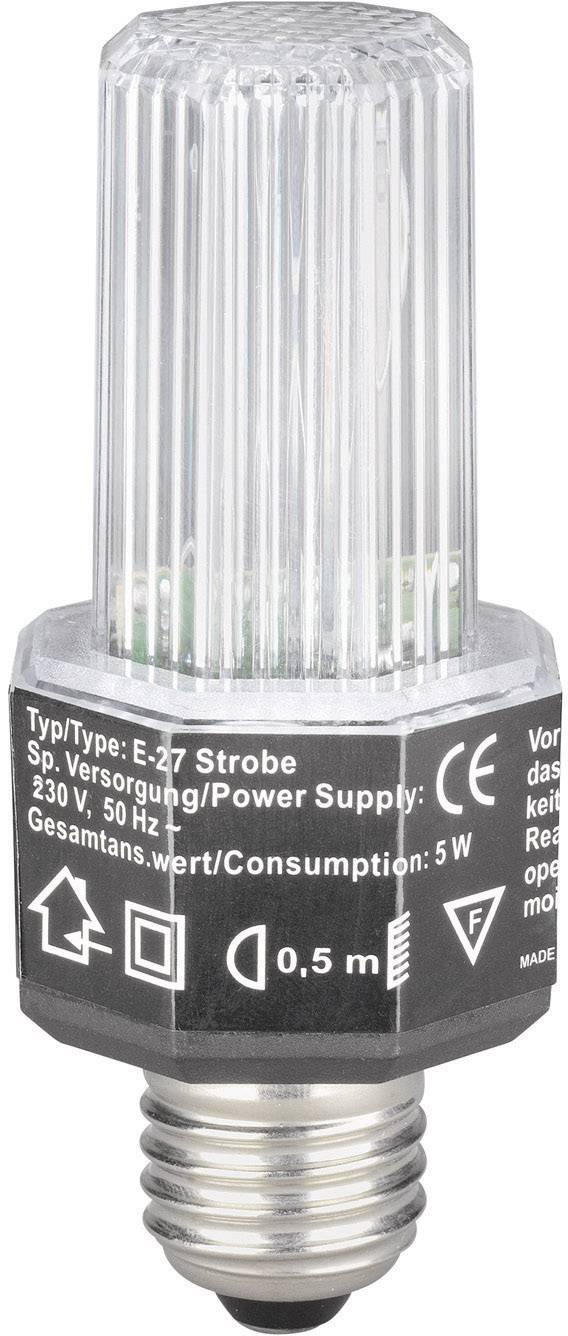 Stroboskop Strobe E-27 5220070L, bílá