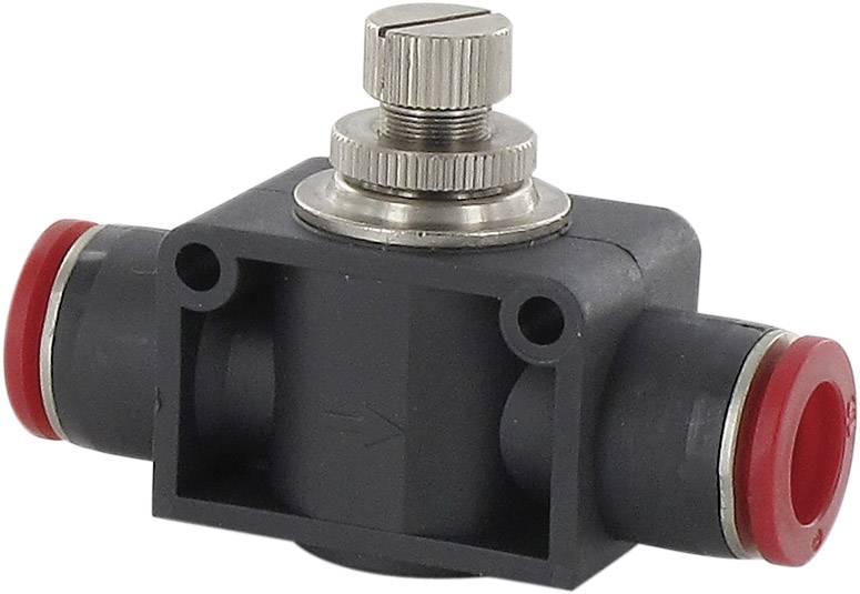 Škrticí zpětný ventil Norgren C00GE0600, Ø 6 mm