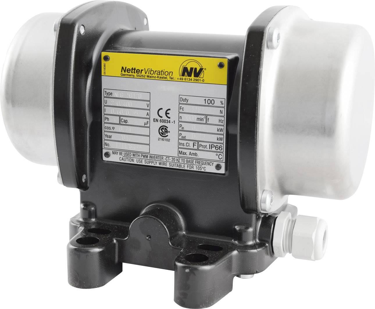 Vnější el. třepačka Netter Vibration NEG 50200, 230/400 V, 2073 N