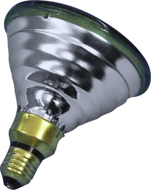 Reflektorová žiarovka PAR 38, E27, 80 W, typ Economy-flood, zelená