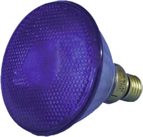 Reflektorová žiarovka PAR 38, E27, 80 W, typ Economy-flood, modrá