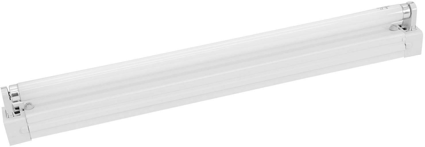 Žiarivka so zásuvkou 10285, 60 cm, 20 W, biela, 1 ks