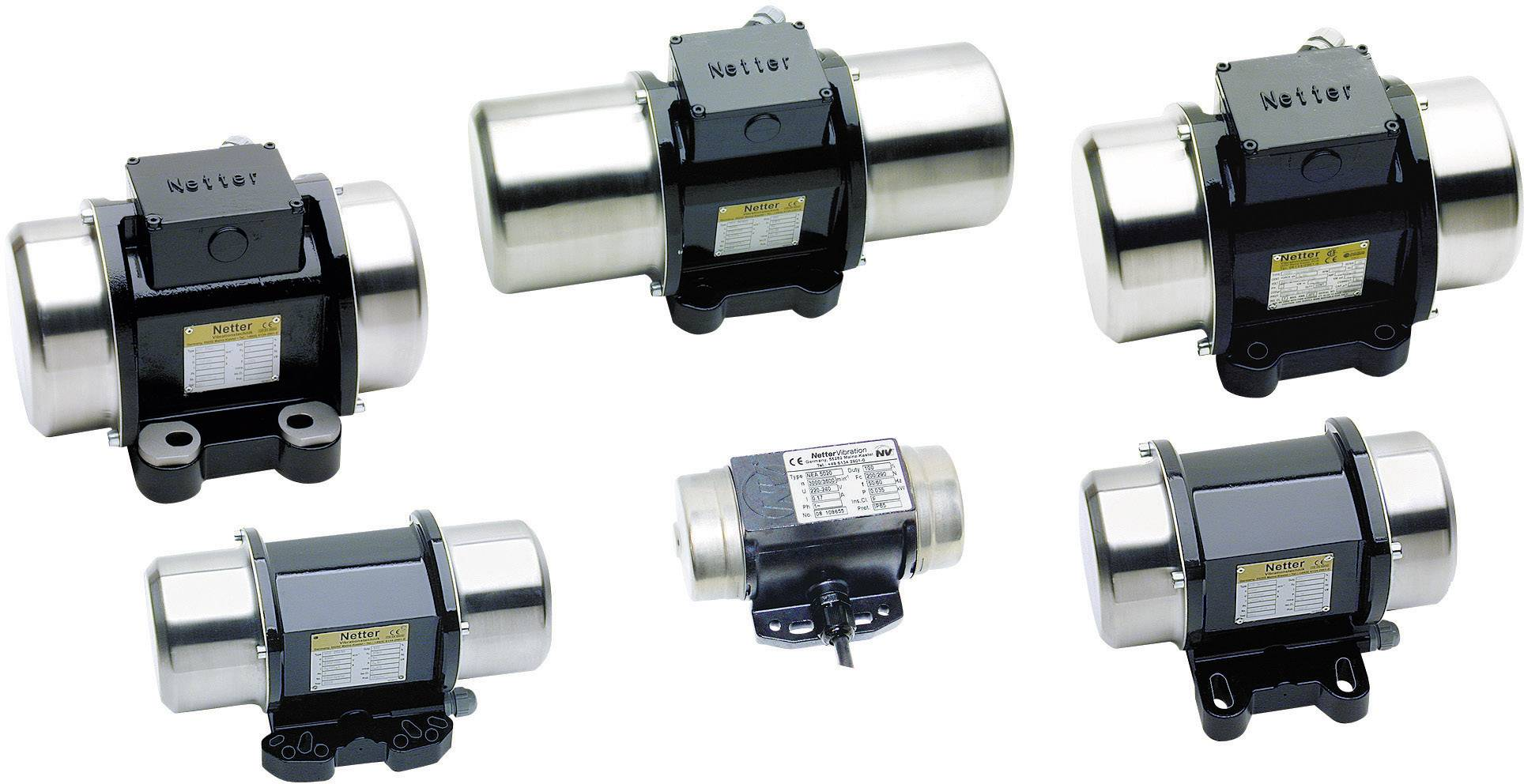 Vnější el. třepačka Netter Vibration NEG 5050, 3x 230 V, 450 N